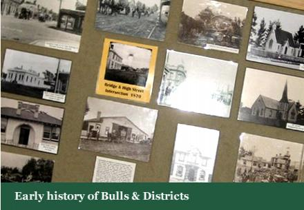Early History of Bulls & Districts