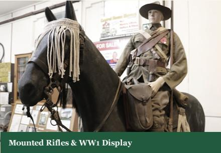 WW1 Mounted Rifles Display