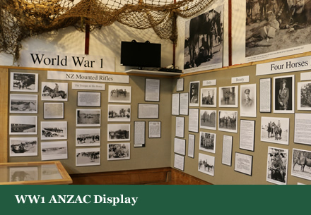 WW1 ANZAC Display